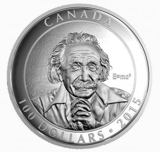 Canada Mint Celebrates Albert Einstein's Theory of Relativity with Karsh Portrait