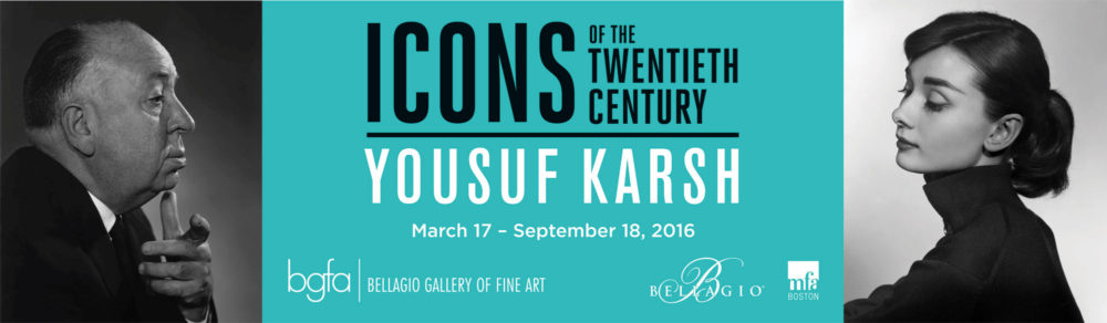 'Yousuf Karsh: Icons of the Twentieth Century' at the Bellagio Gallery of Fine Art