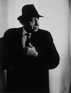 Karsh by Man Ray, 1965