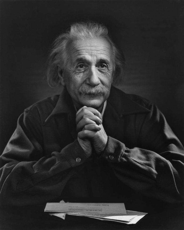 Albert Einstein – Yousuf Karsh