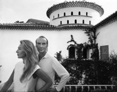 Emilio and Cristina Pucci