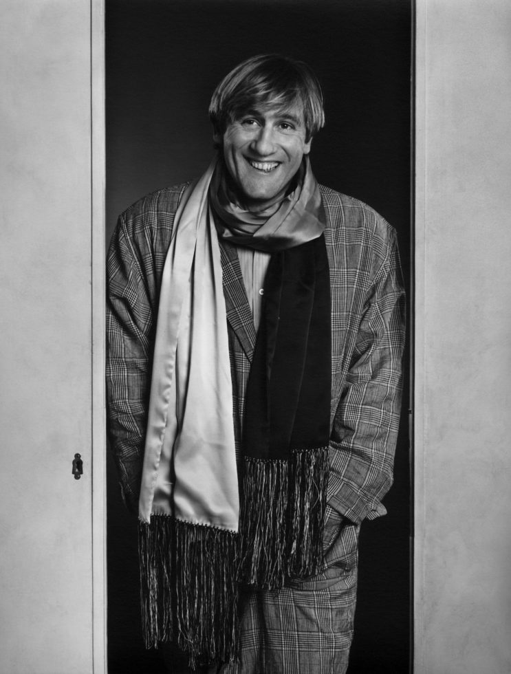 Gerard Depardieu was sentenced to a fine for drunk driving 09.04.2014 81