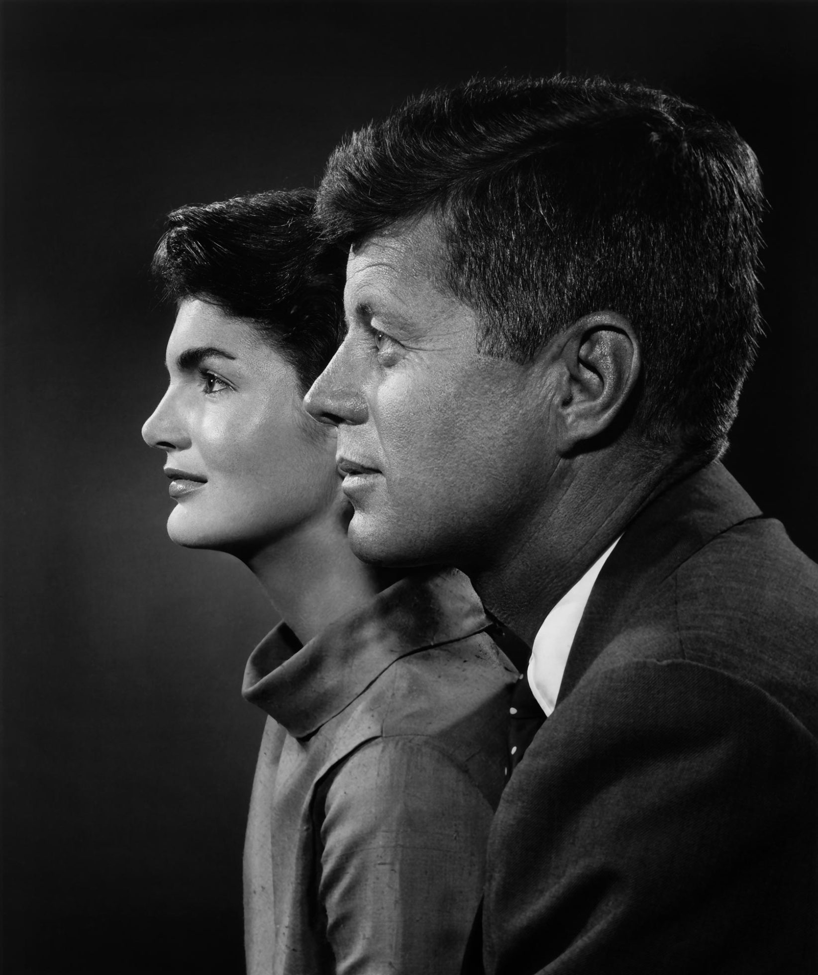 John and Jacqueline Kennedy