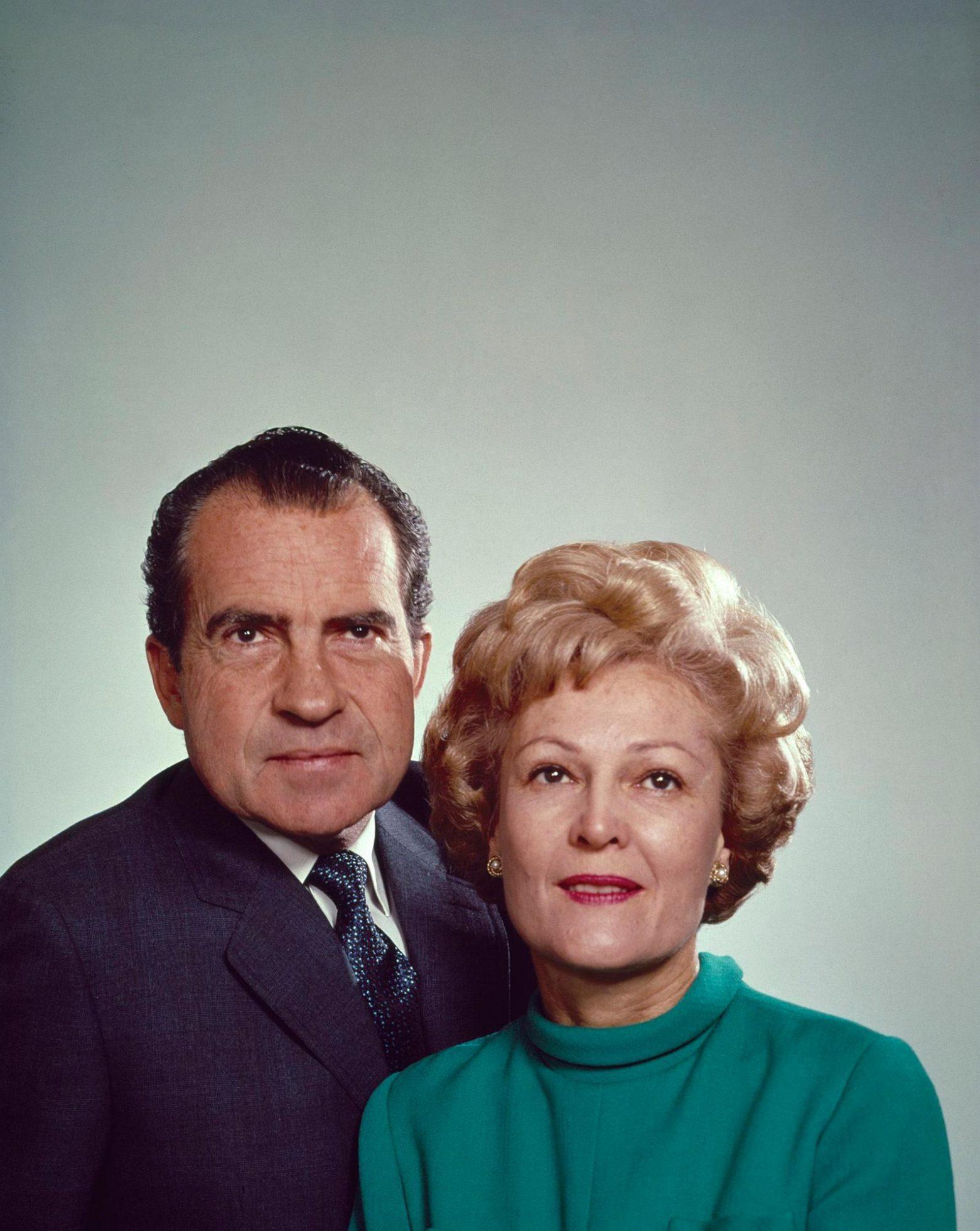 Richard Nixon and Pat Nixon