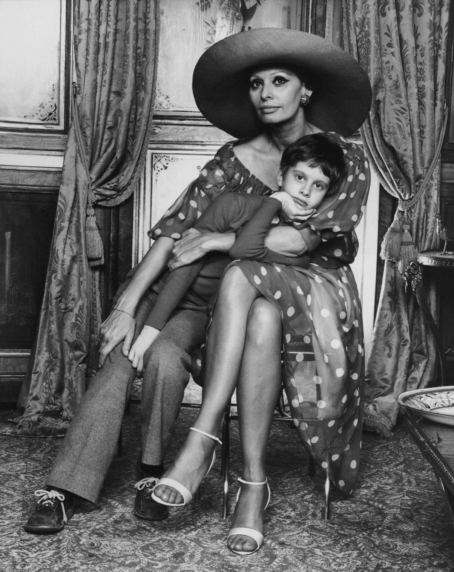 Sophia Loren And Son Edoardo Ponti Yousuf Karsh
