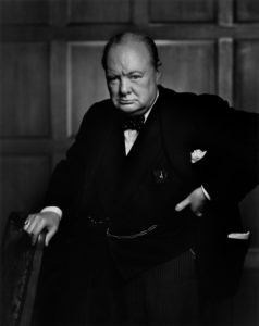 "Winston Churchill in ""The Crown"""