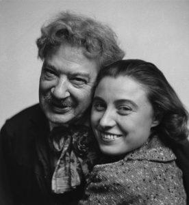 Solange with John Garo, 1939