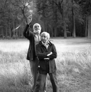 With Ansel Adams, Yosemite, 1977