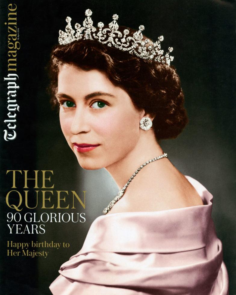 Queen Elizabeth Telegraph Magazine