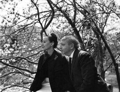 Yousuf and Estrellita Karsh, by Edward Steichen, 1967