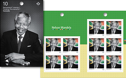 Canada Post Honors Nelson Mandela Using Karsh Photograph