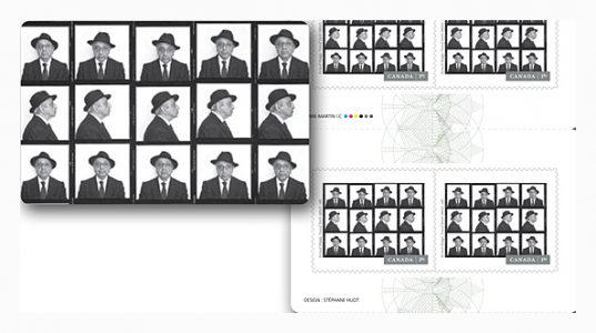 Canada Post Issues Series of Karsh Portraits by Arnaud Maggs