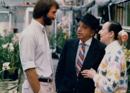 Yousuf and Estrellita with Jerry Fielder, Santa Barbara, 1985