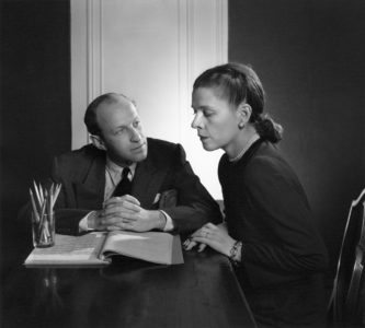 Garson Kanin and Ruth Gordon
