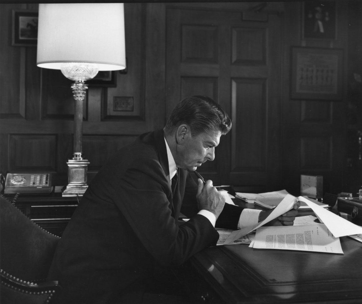 Yousuf Karsh And Ronald Reagan Yousuf Karsh