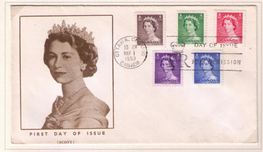 The Queen Elizabeth Karsh Issue Stamps and Stationery