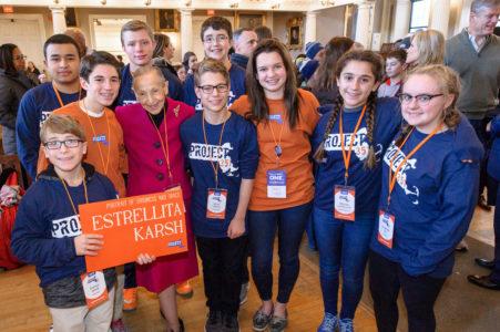 Estrellita Karsh Named as Project 351 Service Hero