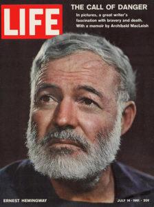 LIFE Magazine: Ernest Hemingway Cover, 1961
