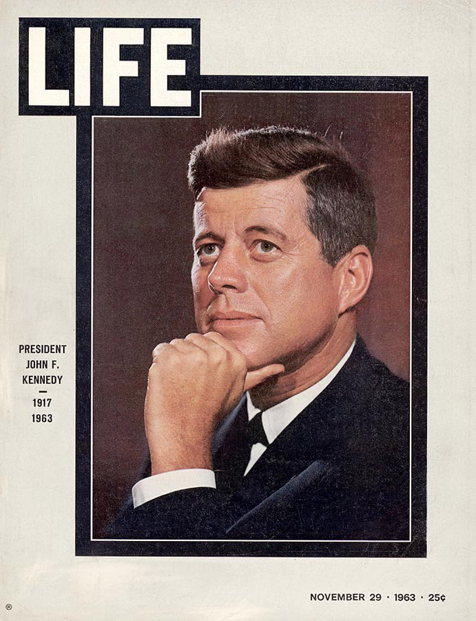 LIFE Magazine John F. Kennedy Cover, 1963