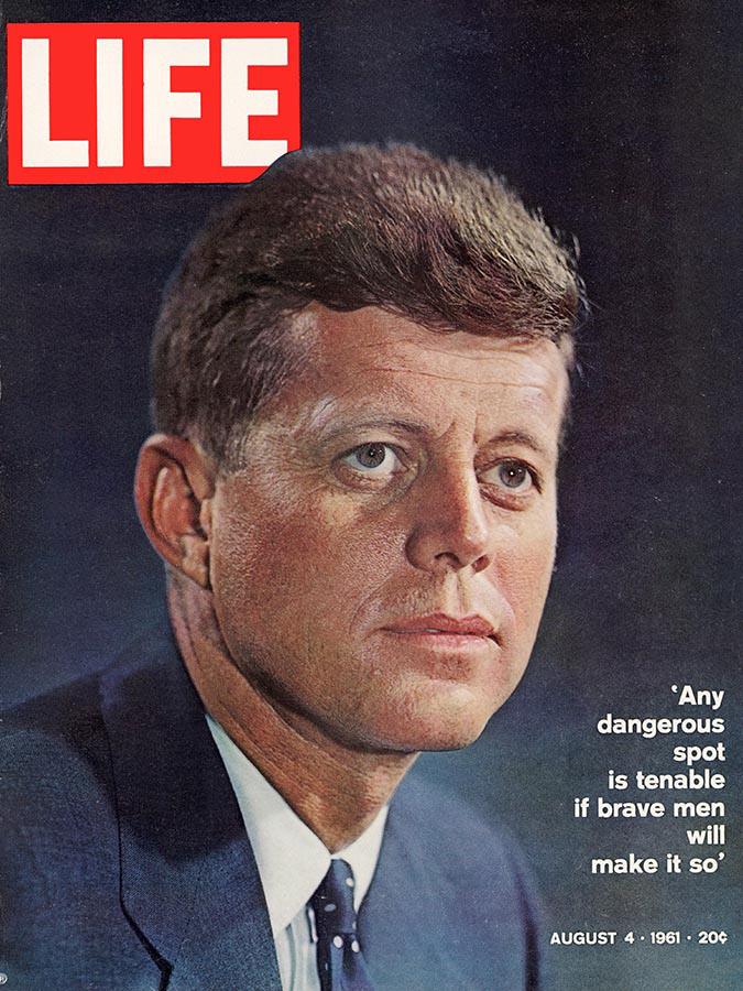 Life Magazine John F Kennedy Cover 1961 Yousuf Karsh