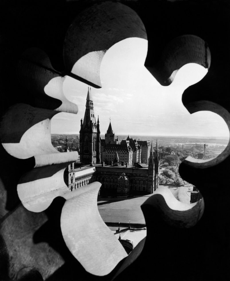 Yousuf Karsh Canadian Parliament 1953