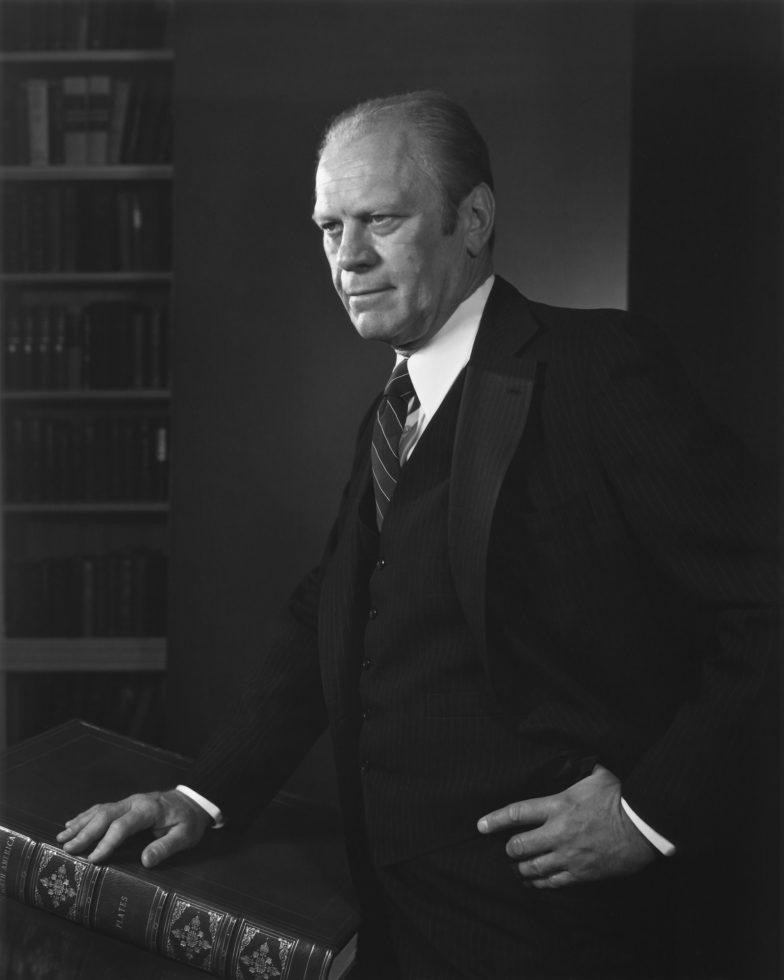 Gerald Ford Yousuf Karsh