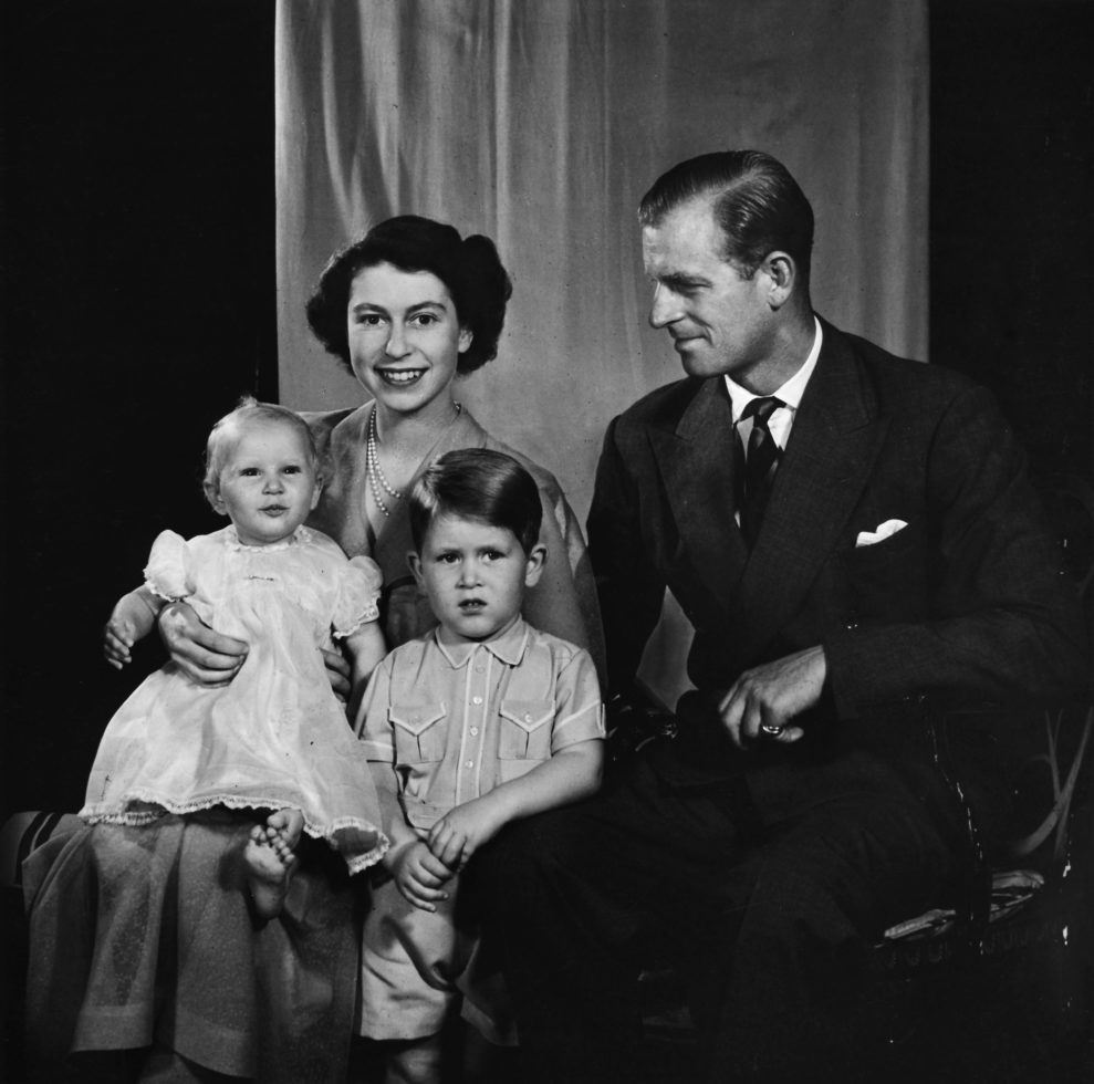 RCIN 2943837 - HM Queen Elizabeth II, Prince Charles and