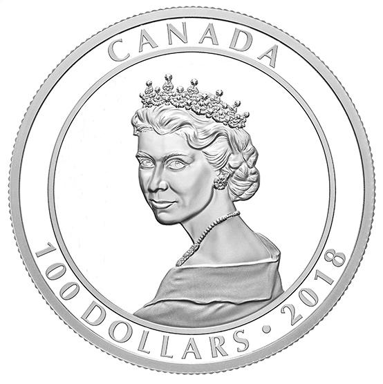 Canada Mint Elizabeth Coin