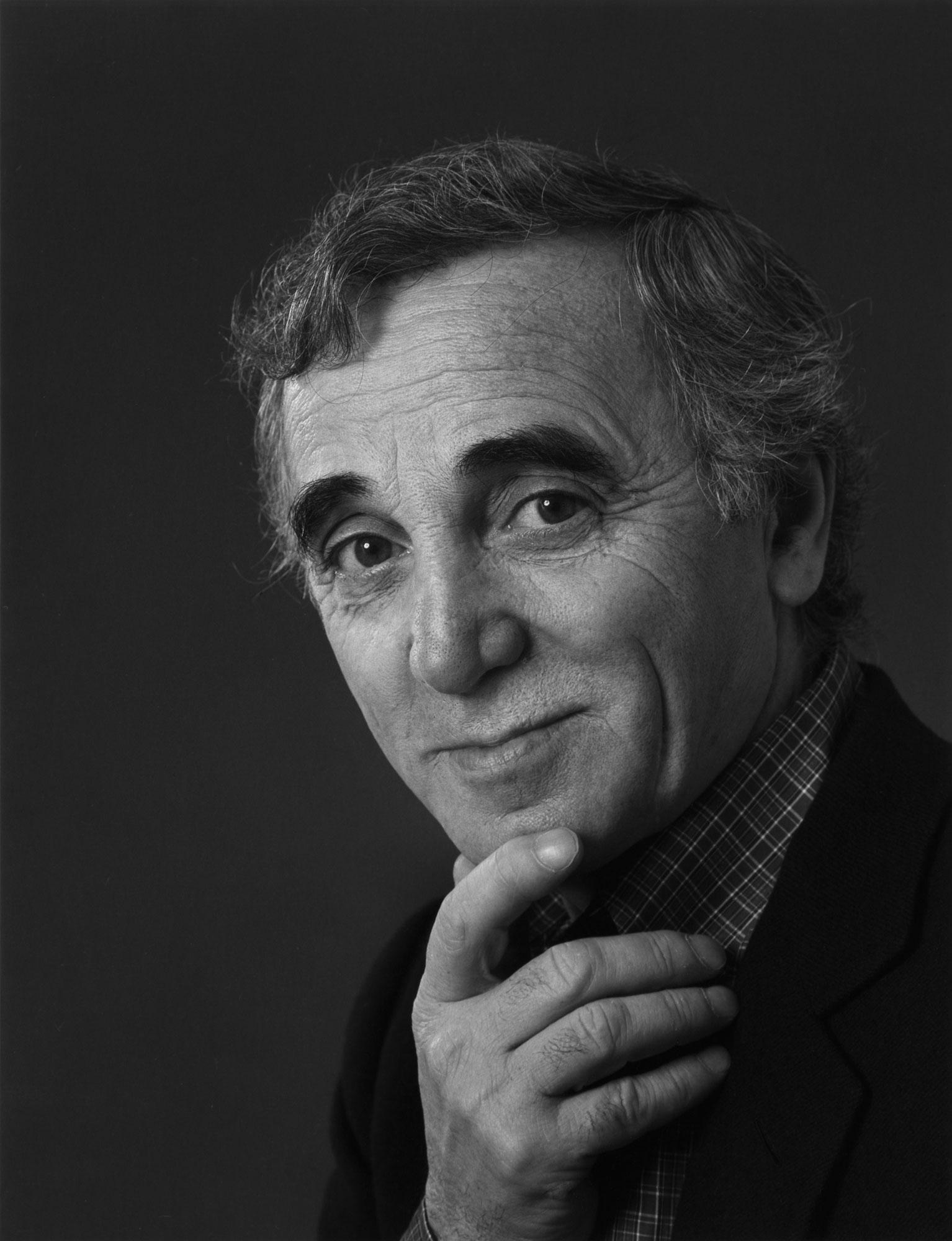 Charles Aznavour, 1924-2018 – Yousuf Karsh