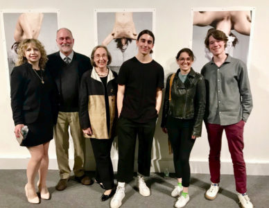 Diego Galbadon, Elizabeth LaPides and Nolan Weinschenk are the 2019 Karsh Prize Winners