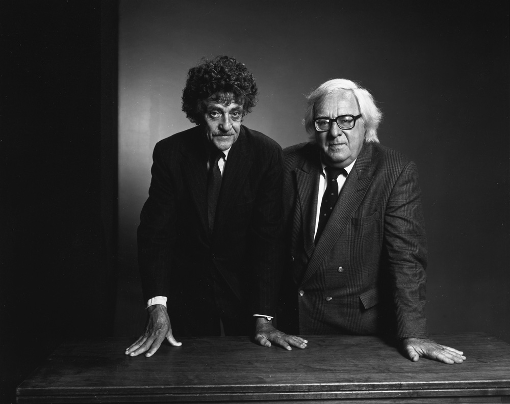 Kurt Vonnegut and Ray Bradbury
