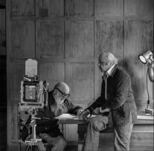 Yousuf Karsh and Ansel Adams