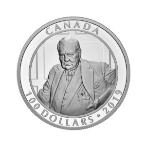 "Canada Mint Releases Winston Churchill ""The Roaring Lion"""