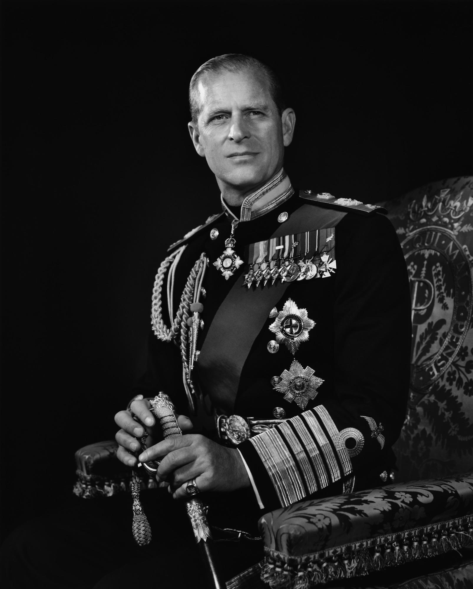 Prince Philip - Yousuf Karsh