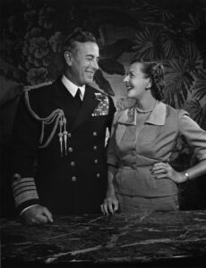 Lord Louis and Lady Edwina Mountbatten